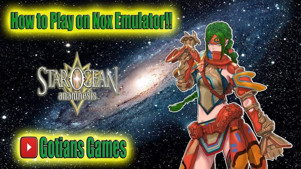 Emulator Reroll Guide for Star Ocean Anamnesis - Global Version