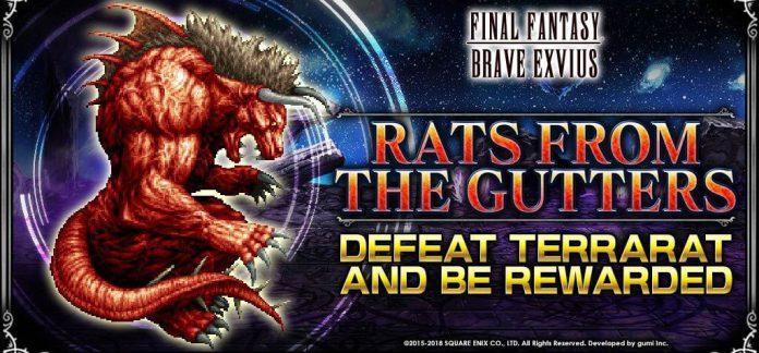 Terrarat trial in Final Fantasy Brave Exvius - Quick Tip