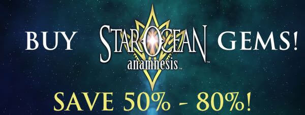 Star Ocean: Anamnesis - Cheap Gems Top-up
