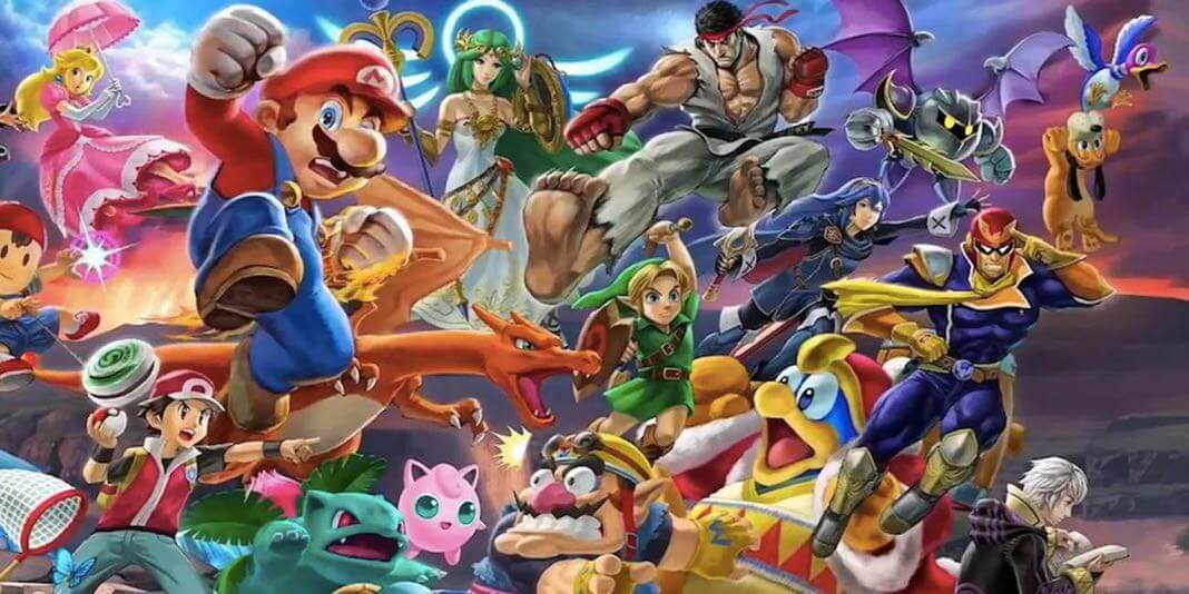 Super Smash Bros Ultimate Recommended Spirit Team by Nintendo