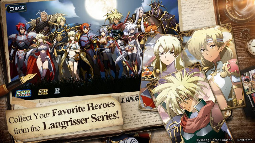 Langrisser Mobile Tier List