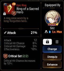 Epic Seven Equipment Guide